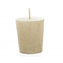 Pillar candle metallic...