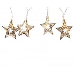 Guirnalda estrellas doradas...