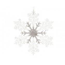 Copo nieve de colgar 32 cm