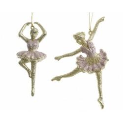 Bailarinas colgar rosa y...
