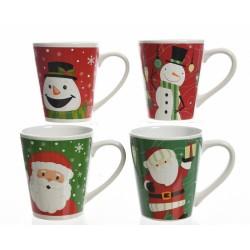 Taza navidad cerámica 13 cm...