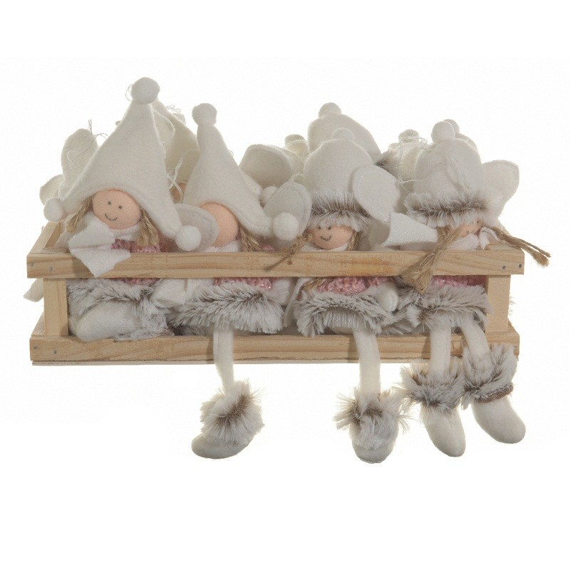 611089 angelitos para colgar tela 13 cm for Zapateros tela para colgar