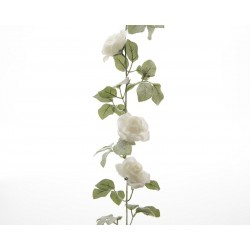 Guirnalda rosas nevada 170...