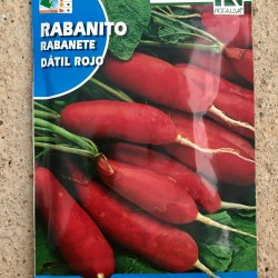"Semillas rabanito ""DATIL ROJO"""