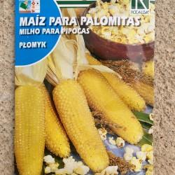 Semillas maíz para palomitas