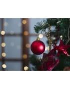 Decoración de navidad árbol y adornos navideños